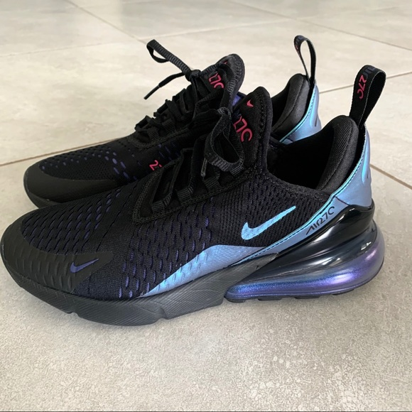 Nike Shoes Air Max 270 Womens Shoe Black Blue Purple Poshmark